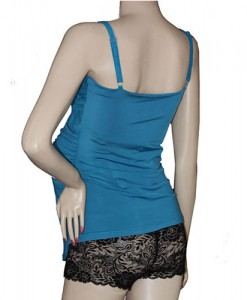 maternity-cami-teal-lace-back